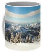 Winter Landscape In British Columbia Coffee Mug
