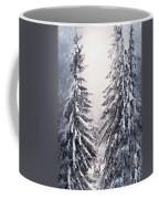 Winter Light And Tiger Coffee Mug