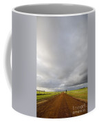 Winter Light On Road Coffee Mug