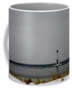 Winter Lighthouse Coffee Mug