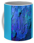 Winter London Plane Tree Abstract 4 Coffee Mug