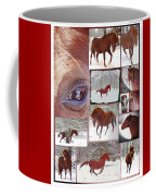 Winter Moments- With The Flashy Paso Fino Stallion Coffee Mug