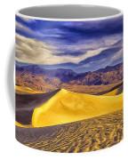 Winter Morning At Death Valley Coffee Mug