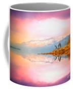 Winter Morning At Okanagan Lake Coffee Mug