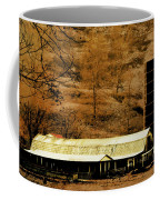 Winter Morning At The Cattle Farm Coffee Mug