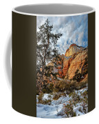 Winter Morning In Zion Coffee Mug
