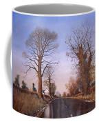 Winter Morning On Calverton Lane Coffee Mug