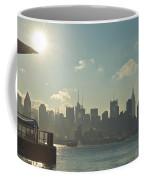 Winter Morning On The Hudson Coffee Mug