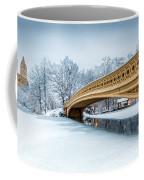 Winter Morning With Bow Bridge Coffee Mug