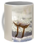 Winter Mushrooms Coffee Mug