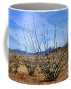 Winter Ocotillo Garden Coffee Mug