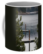 Winter On Lake Coeur D' Alene Coffee Mug
