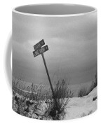 Winter On The Lake Coffee Mug