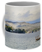 Winter On The Lake Coffee Mug by Susan Leggett