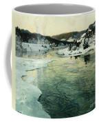 Winter On The Mesna River Near Lillehammer Coffee Mug by Fritz Thaulow