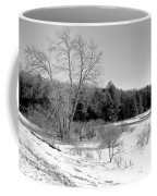 Winter On The Moose River Coffee Mug