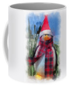 Winter Penguin Photo Art Coffee Mug
