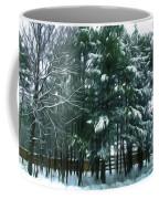 Winter Pine Tree  Coffee Mug