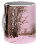 Winter Pink Coffee Mug