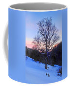 Winter Poplar Tree Coffee Mug