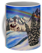 Winter Rainbow Coffee Mug