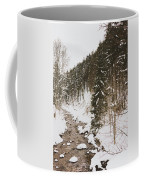 Winter River Coffee Mug
