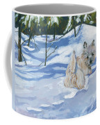 Winter Romp Coffee Mug by Molly Poole
