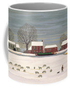 Winter Scene In Lincolnshire Coffee Mug by Vincent Haddelsey