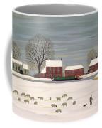 Winter Scene In Lincolnshire Coffee Mug