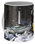 Winter Scene Michigan #1 Coffee Mug