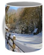 Winter Shack Coffee Mug
