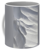 Winter Snow Drift Sculpture  Coffee Mug