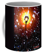 Winter Snow Storm At Night Coffee Mug