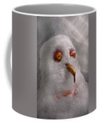 Winter - Snowman - What Are You Looking At Coffee Mug by Mike Savad