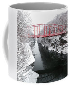 Winter Solitude Square Coffee Mug by Bill Wakeley