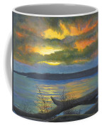 Winter Solstice At The Confluence Of The Mississippi And The Missouri Rivers Coffee Mug