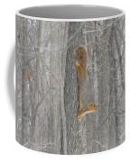 Winter Squirrel Coffee Mug