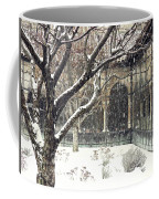 Winter Storm At The Cloisters 3 Coffee Mug