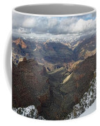 Winter Storm At The Grand Canyon Coffee Mug