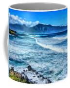 Winter Storm Surf At Ho'okipa Maui Coffee Mug