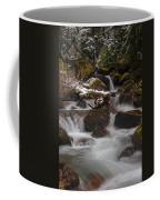 Winter Stream Tranquility Coffee Mug