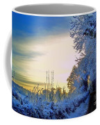 Winter Sunburst Coffee Mug