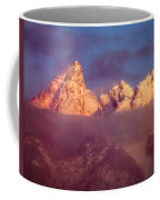 1m9333-winter Sunrise On Teton Range Coffee Mug