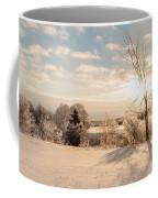 Winter Sunrise Panorama Coffee Mug