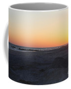 Winter Sunset On Long Beach Coffee Mug