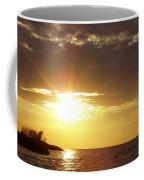 Winter Sunset Over Long Island Coffee Mug