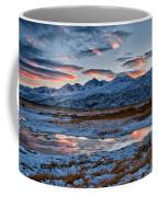 Winter Sunset Reflection Coffee Mug