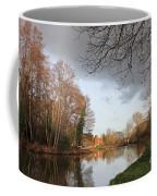 Winter Sunshine On The Wey Canal Surrey Uk Coffee Mug
