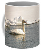 Winter Swan Coffee Mug