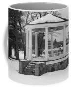 Winter Time Gazebo Coffee Mug